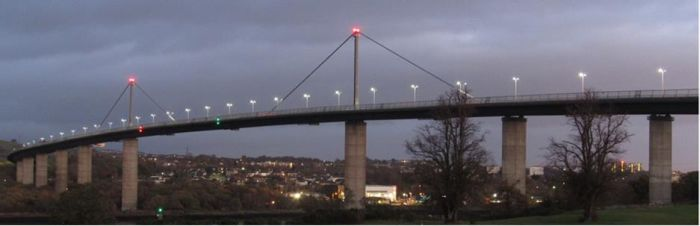 A898 Erskine Bridge Lighting and Electrical Refurbishment