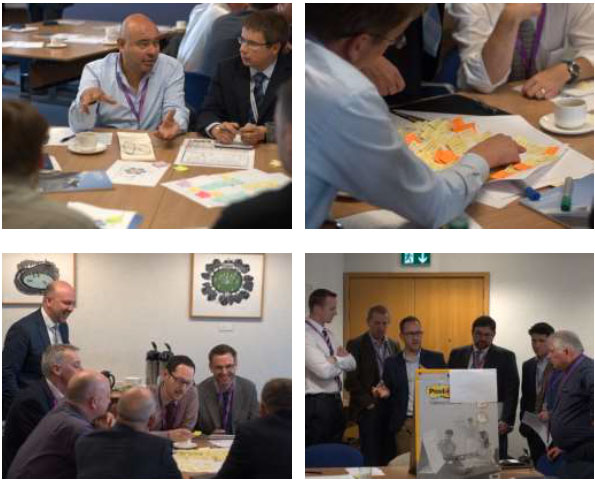 E-cosse Workshop, Edinburgh. September 2016. (Source: Urban Foresight)