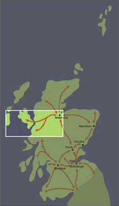 Corridor 3: Inverness to Fort William and Western Isles