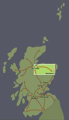 Corridor 4: Aberdeen to Inverness