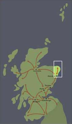 Corridor 8: Aberdeen to North East Scotland