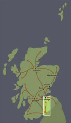 Corridor 19: Edinburgh to North West England and beyond