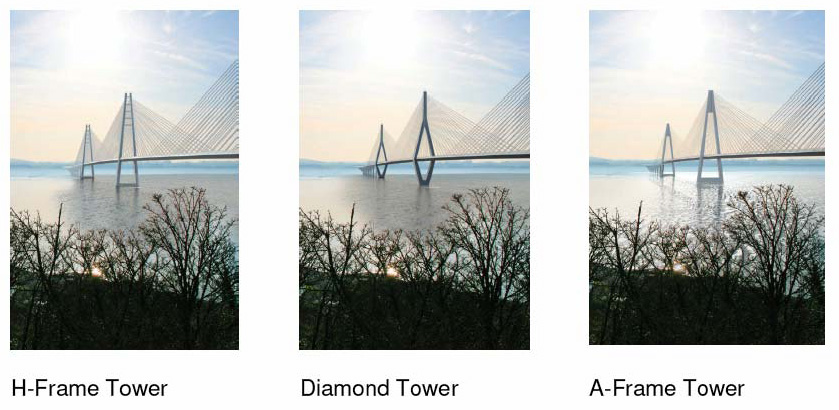 Figure 5.5: Alternative Tower Forms considered