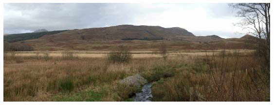 Figure 10.6 Farmed Strath Floor: the Strath Fillan / Glen Dochart valley.