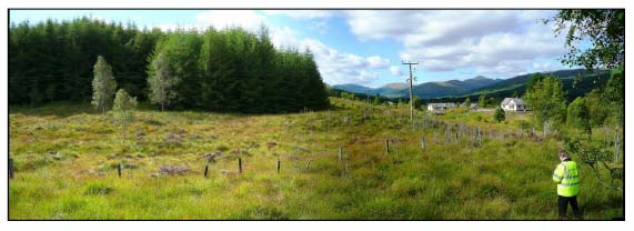 Photo 1:  Site of Proposed Bypass