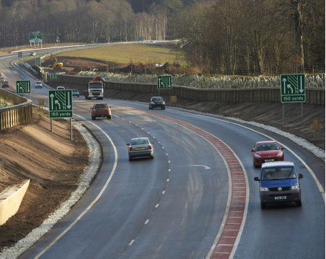 New A96 Fochabers and Mosstodloch Bypass