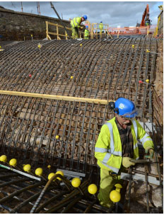 Strengthening of the A92 Edenbank Bridge