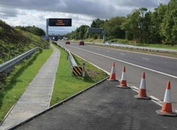 Variable Message Sign on M90 southbound © Crown copyright