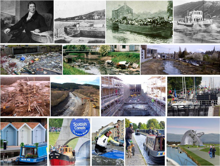 Front cover images supplied by Scottish Canals