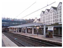 Capacity improvement works at Haymarket Station