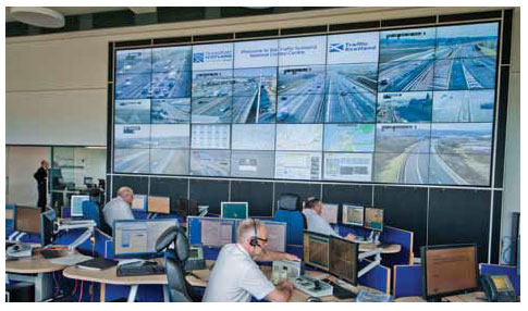 Inside the Traffic Scotland National Control Centre