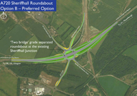 A720 Sheriffhall Roundabout - Option B - Preferred option