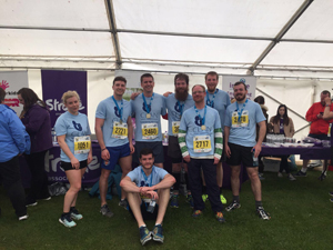 25 runners from the AWPR project took part