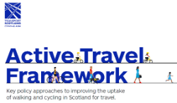 Cover page of Active Travel Framework document